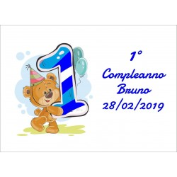 Magnete Compleanno Bear