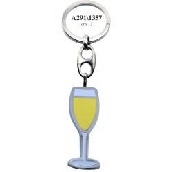 Portachiave Calice Champagne