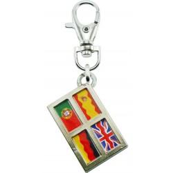 Portachiavi bandiere (Lingue)
