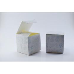 Scatoline portaconfetti a forma di cubo per Nascita